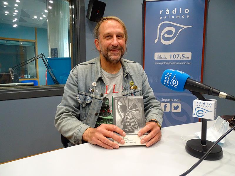 Jordi Prat presenta demà a la biblioteca de Palamós el seu darrer llibre,