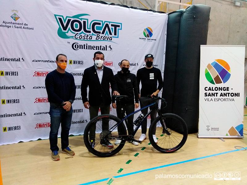 La presentació de la VolCat s'ha fet aquest matí al pavelló de Calonge.