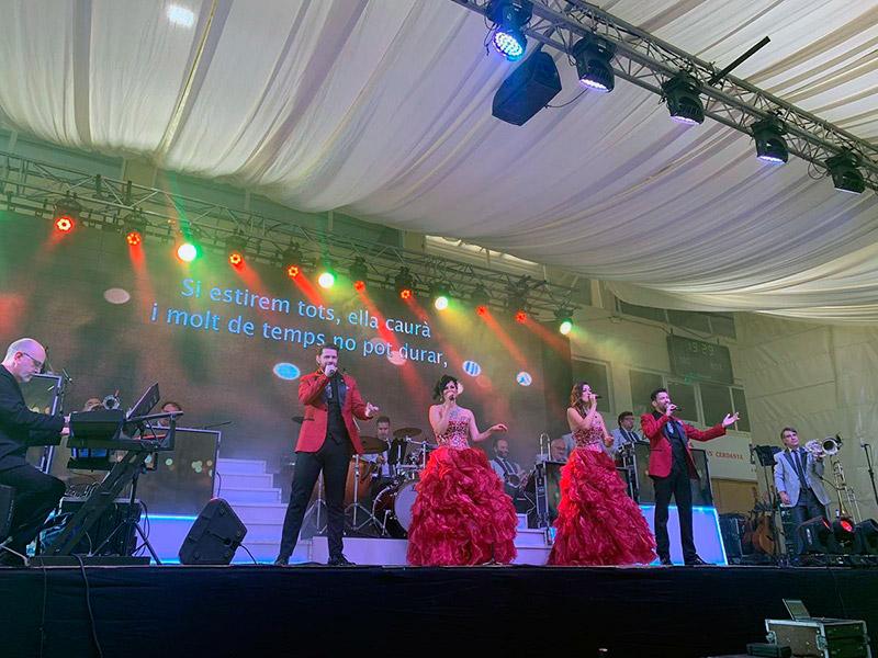 Avui, doble actuació de l'orquestra La Selvatana a l'Espai Festa. (Foto: Orquestra La Selvatana).