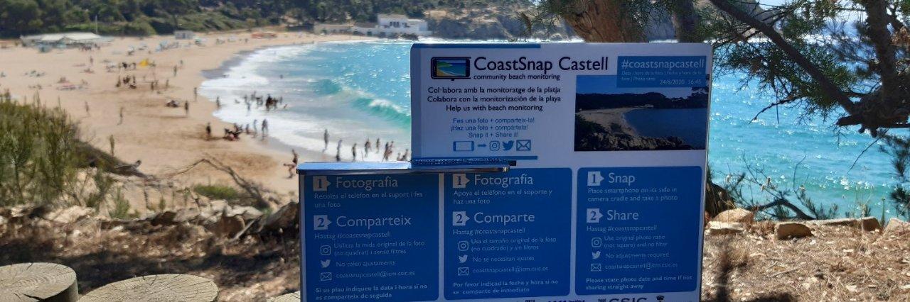 L'estudi vol preveure preveure com canviaran les platges de la Costa Brava en les pròximes dècades. (Foto: ICM).
