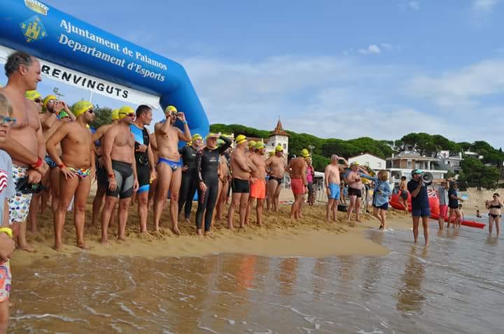 La prova combinarà cursa de muntany i natació. (Foto: Club Natació Palamós).