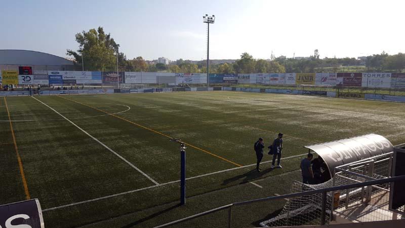 El Palamós ha perdut en temps de descompte a Vilafranca (Foto: TV Costa Brava).