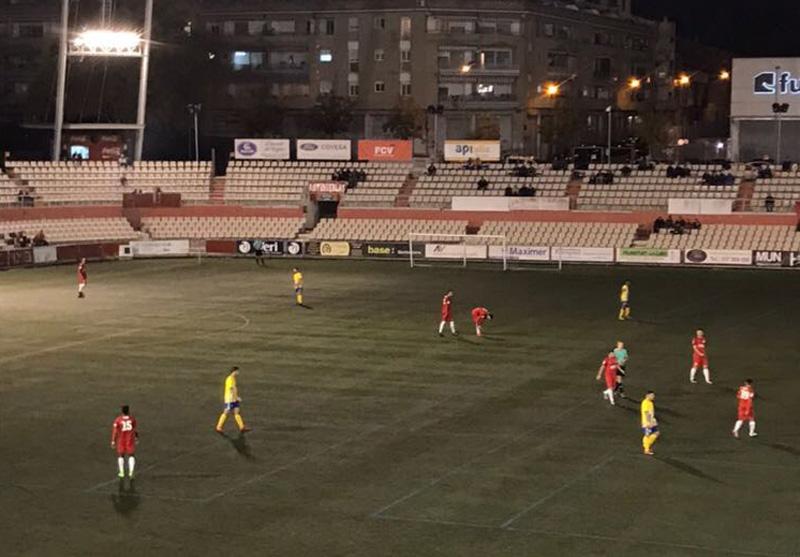 El Palamós ha perdut el partit jugat avui amb el Terrassa (Foto:Joan Pau Pérez)