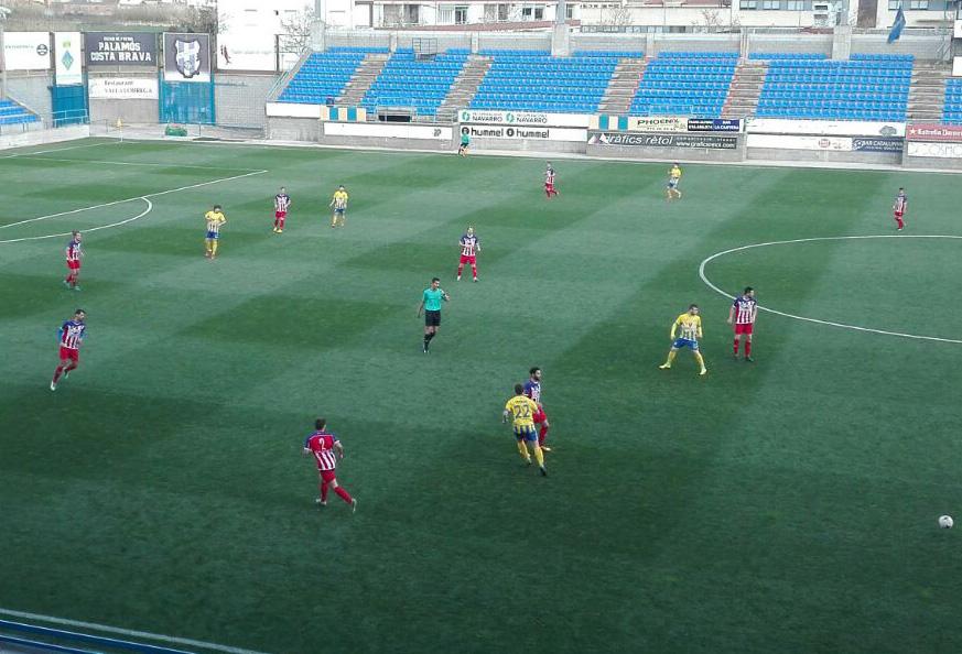 El Palamós CF ha empatat davant el Vilassar.