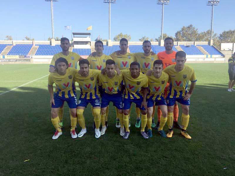El Palamós CF ha guanyat amb contundència davant la Guineueta (Foto: Ramon Ribas)