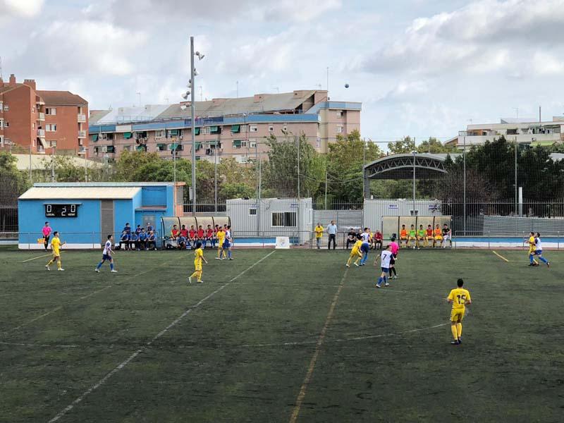 El Palamós CF ha sumat tres punts davant el Can Vidalet (3-4) (Foto:Josep Mº Guzmán)