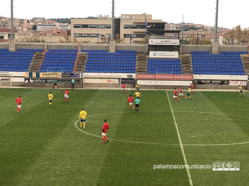 El Palamós ha sumat tres punts a casa davant del Sabadell Nord.