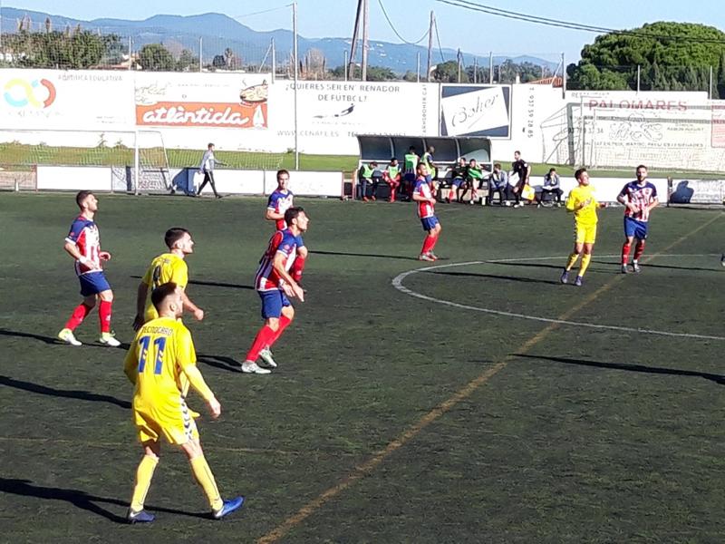 El Palamós CF aconsegueix un punt davant el Vilassar de Mar (Foto: Sergi Cortés)