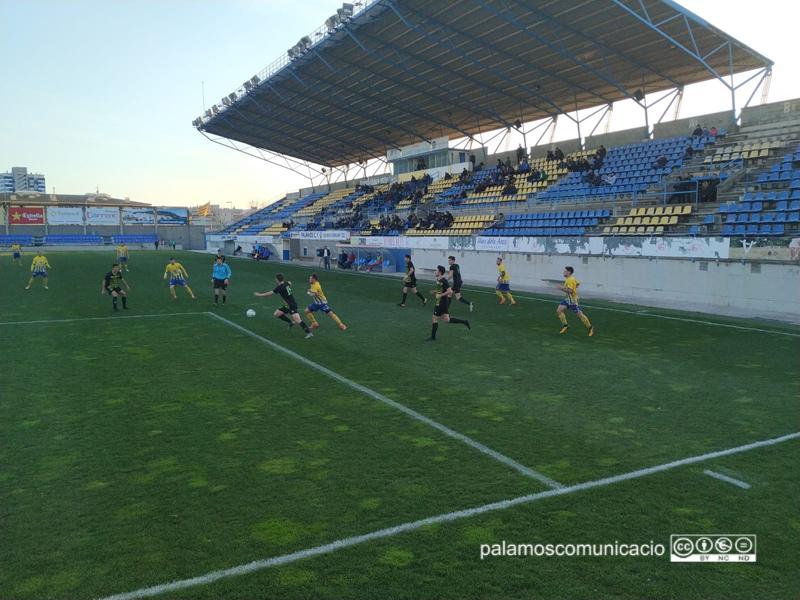 El Palamós CF ha sumat tres punts davant el Can Vidalet (2-0)