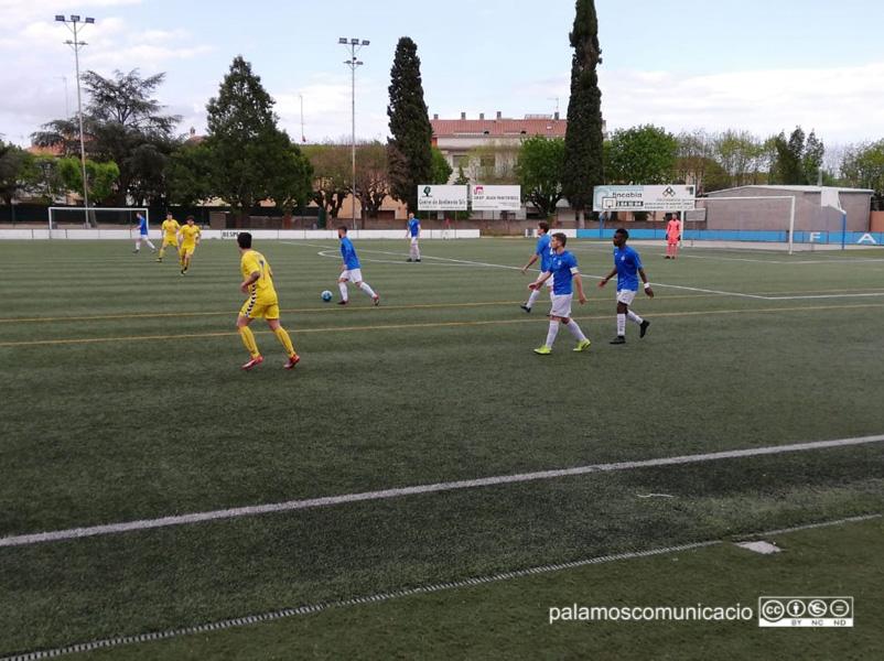 El Palamós CF ha sumat tres punts davant el Farners (0-1)