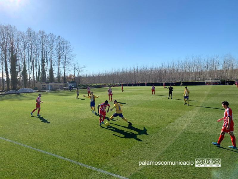 El Palamós CF ha perdut el partit d'avui davant el líder de la categoria, el Girona B (2-0)