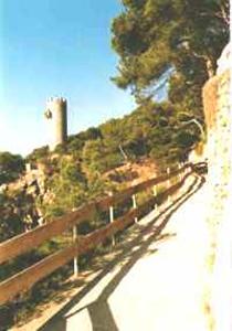 El camí de ronda de Torre Valentina