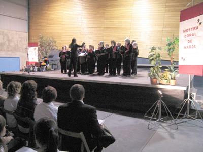 Un moment de la Mostra de Nadales de Sant Antoni
