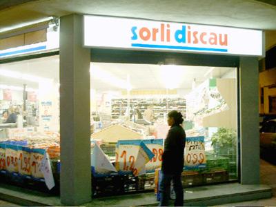 El supermercat Sorli Discau