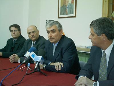 Jordi Pallí, al centre de la imatge