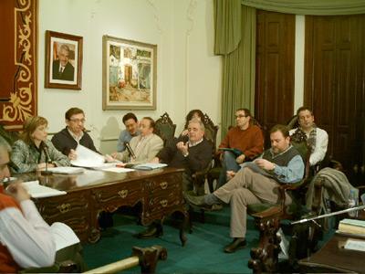 Un moment del ple que va aprovar el pressupost municipal de 2006