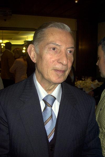 Josep Colomer, president de la Cambra de Comerç, Indústria i Navegació de Palamós