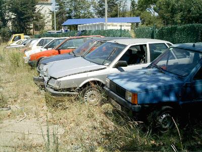 El dipòsit de vehicles de Palamós