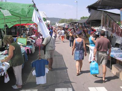 El mercat de Sant Antoni, aquest estiu passat