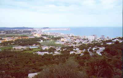 Vista del nucli de Sant Antoni