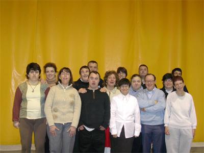 El grup de teatre El Trampolí