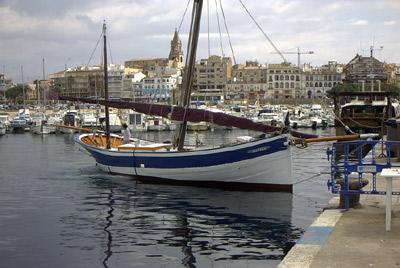 El vaixell Rafael.