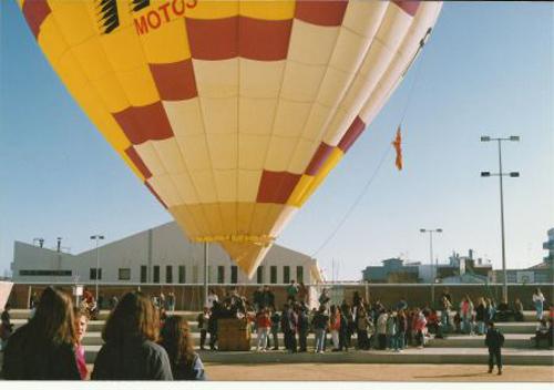 Una fotografia dels actes de celebració dels 10 anys de l'IES Palamós.
