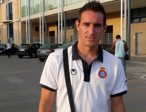 Díaz es va formar en el futbol base de l'Espanyol. (Foto: sentimentperico)