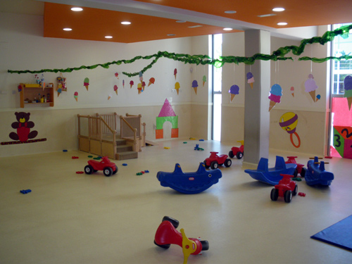 Dependències de la llar d'infants municipal de Palamós.