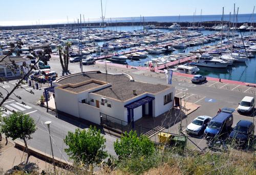Vista del Port Marina Palamós.