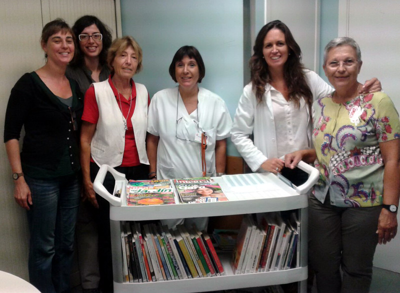 L'equip encarregat del 'Receptes de lectura'. (Foto: SSIBE).