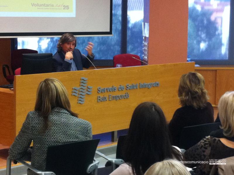 Carles Capdevila a la conferència inaugural de les jornades.