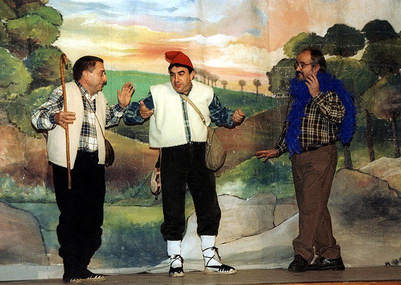 Imatge d'arxiu d'una representació d'Els Pastorets, a càrrec de Gespa Teatre. (Foto: Gespa).
