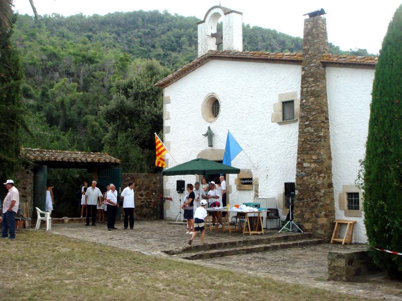 El santuari de Bell-lloc, escenari de l'Aplec anual.