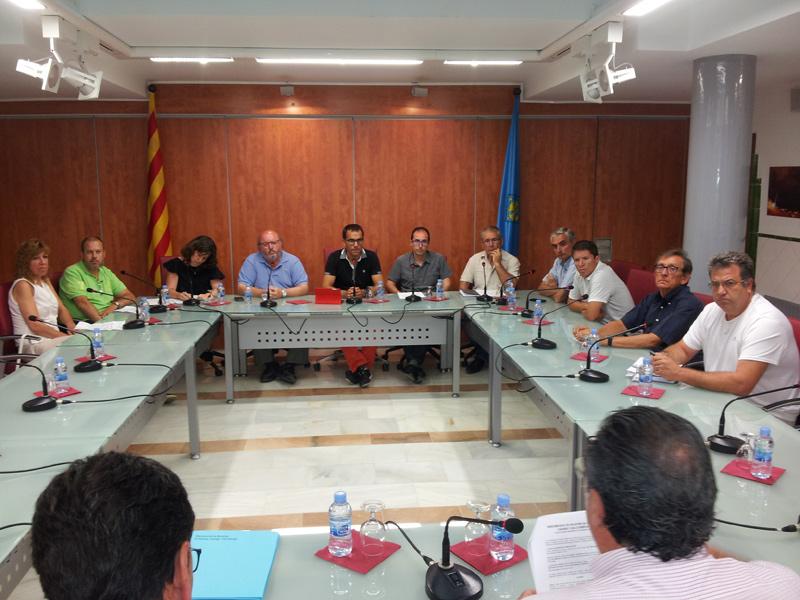 Reunió de l'Assemblea de la Mancomunitat de Municipis, en una imatge d'arxiu.