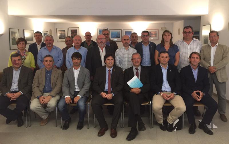 Els nous representants polítics al Consorci de la Costa Brava. (Foto: CCB).