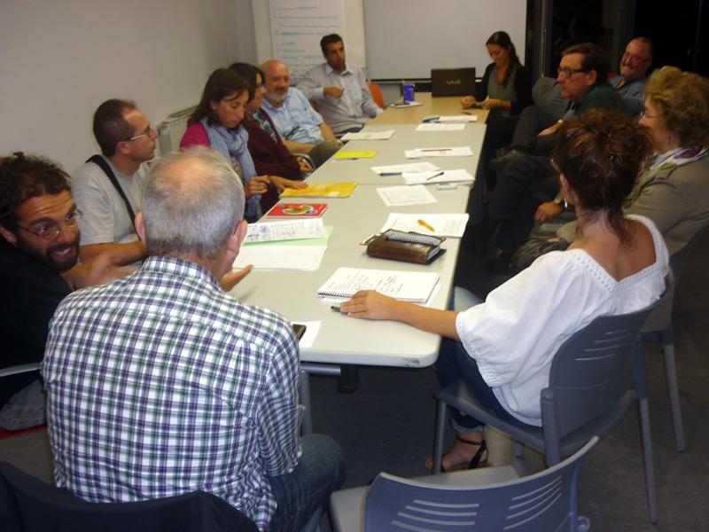 La reunió que el Consell de Participació Ciutadana, en una imatge d'arxiu.