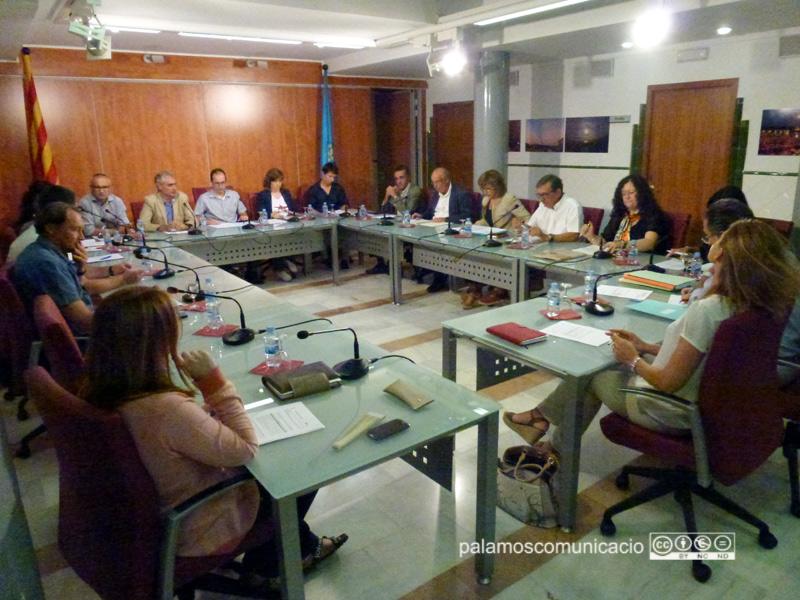 El Ple de l'Ajuntament de Palamós del passat setembre.