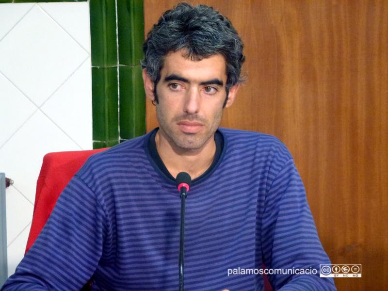 El portaveu municipal de la CUP a Palamós, Joan Bohigas.