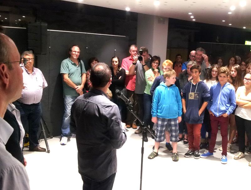 Visita de la delegació de Rheda a Palamós, el mes passat. (Foto: Ajuntament de Palamós).