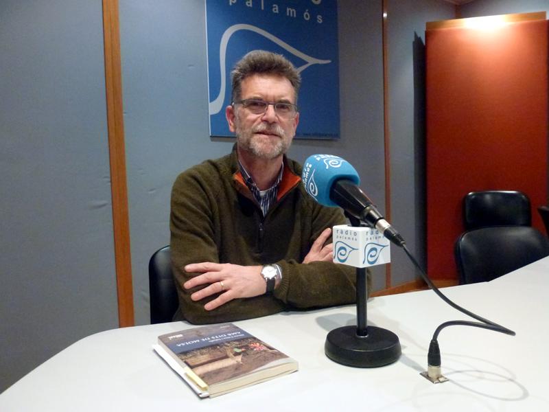 Alfons Cama ha parlat del seu nou llibre al programa 'Fila Zero' de Ràdio Palamós.