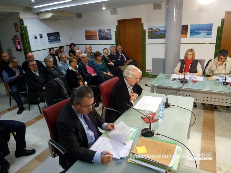 Sistach, durant la presentació de l'informe de les actuacions de 2015 del Síndic local.