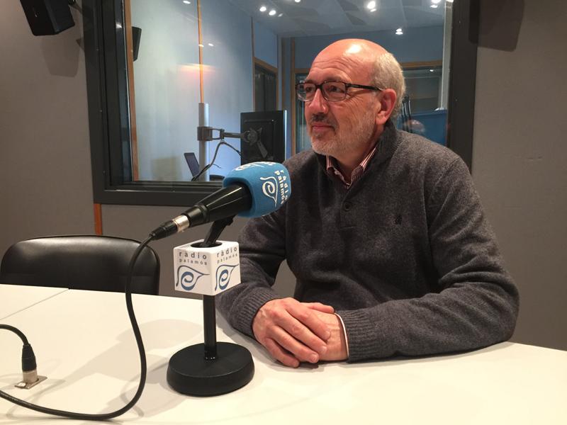 David Sagurera, ahir a l'espai de Ràdio Palamós 'L'entrevista'.
