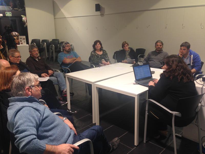 Una de les reunions del procés participatiu de Festa Major 2016. (Foto: Ajuntament de Palamós).