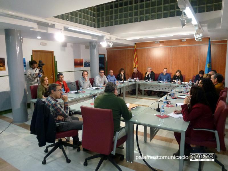 El Ple municipal ordinari del mes de març, que es va reunir dimarts passat.