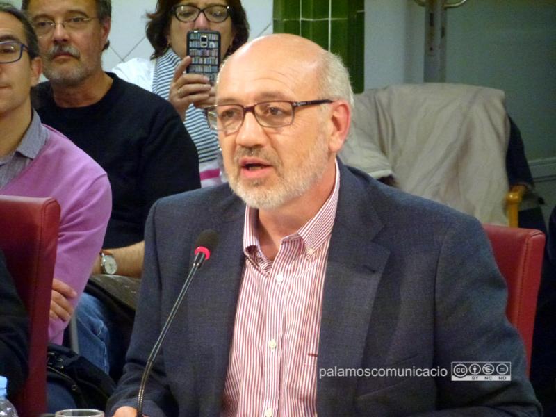 David Sagrera és el Síndic de Greuges de Palamós.