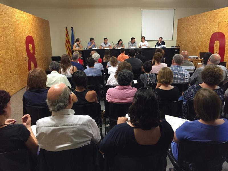 Un moment de la trobada que es va fer dijous passat a La Gorga. (Foto: Jordi Sistach).