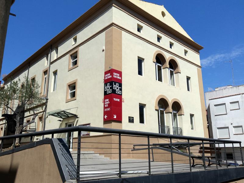 Les entrades es podran comprar online o al Centre Cultural La Gorga, a la imatge. (Foto: Ajuntament de Palamós).