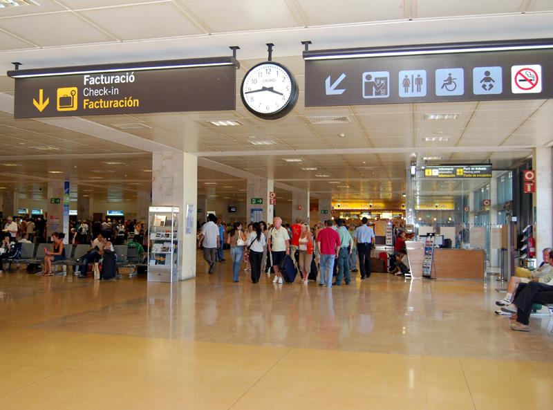 Al juliol l'aeroport de Girona ha guanyat més de 5.000 viatgers.