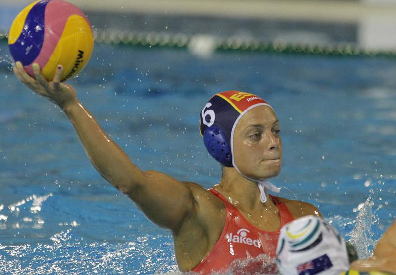 Jennifer Pareja, que va ser capitana de la selecció espanyola de waterpolo, és una de les ponents de demà. (Foto: deporteymujer).